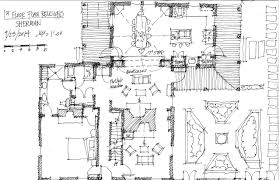 Brave New Plans   HOMES OF THE BRAVE Sherman   Revised First Floor Plan Sketch