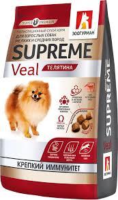 <b>Сухой корм Зоогурман</b> Supreme для собак - купить в ЮниЗоо в ...