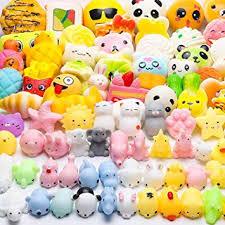 WATINC 70Pcs Squishies Toys, Including Random <b>40Pcs</b> Kawaii ...
