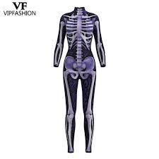 <b>VIP FASHION 2019</b> New Design Cosplay Bodysuit 3D Skeleton ...