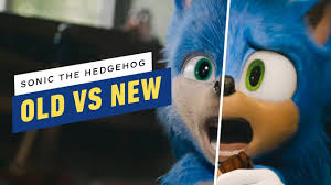 Sonic The Hedgehog: Old and <b>New Design</b> Comparison - YouTube