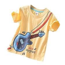 FORESTIME Summer <b>Boys T</b> Shirt <b>Kids Baby</b> Short Sleeve <b>Cartoon</b> ...