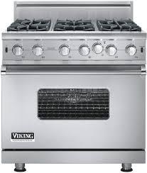 black appliance matte seamless kitchen:  vgicb viking gas range front view