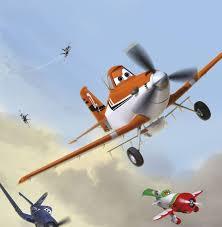 <b>Фотообои</b> Komar <b>Disney</b> Planes Dusty and Friends 4-452