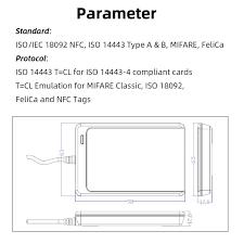 Считыватель смарт-<b>карт</b> NFC ACR122U, считыватель <b>rfid</b>-<b>карт</b> ...