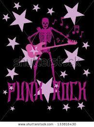 Skeleton Disco <b>Music Retro Style</b> Vector Art - 133816430 ...