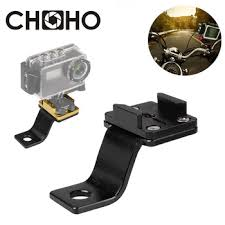 Motorcycle Aluminum bracket Mount rearview mirror Supporter Ride ...