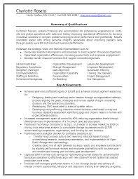 human resource resume summary of qualifications cipanewsletter human resources resume summary of qualifications resume human