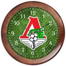 """Часы c дизайнерскими принтами """"<b>Футбол</b>"""" - заказать часы в ..."""