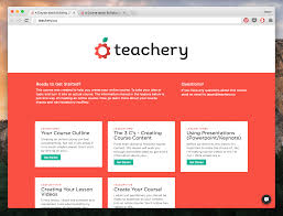 the teachery minimal theme a simple online course template teachery course minimal theme