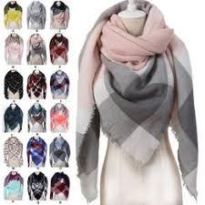 18 Styles Fashion Winter Triangle Scarf For Women Brand ... - Vova