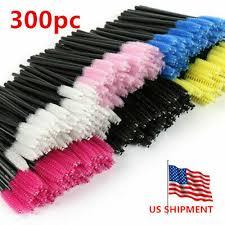 EZGO <b>300pc Disposable Makeup Eye Eyelash Brush Mascara</b> ...