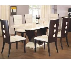 White Marble Dining Table Dining Room Furniture Dark Wood Dining Table Rpg Magazine