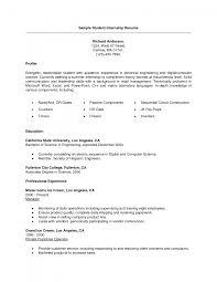 student resume for internship template cipanewsletter cover letter sample internship resume journalism internship resume