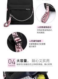 Online Shop BLACKPINK JISOO Rose Lisa Travel <b>Backpack USB</b> ...