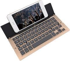 <b>Foldable Bluetooth keyboard</b> Ultra-thin <b>Folding Bluetooth</b> Aluminum ...