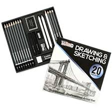 U.S. Art Supply 20 Piece Professional Hi-Quality Artist ... - Amazon.com