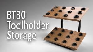 <b>BT30 Toolholder</b> Storage - YouTube