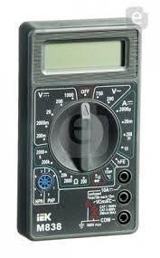 <b>Мультиметр IEK Universal M838</b> цифровой — купить по выгодной ...