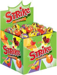 <b>Карамель на палочке</b> Strike с двойными вкусами, 11 г – купить по ...