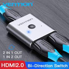 Переключатель <b>Vention HDMI</b> 4K двунаправленный ...