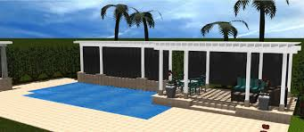 covered patio freedom properties: archadeck of miami answers the question of whether the pool or the patio should come first