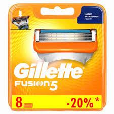 <b>Кассеты д</b>/<b>станка</b> мужские <b>Gillette Fusion</b> 8шт - купить с ...