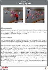 mini guía una introducción al design thinking pdf como saturar y agrupar satura el espacio de trabajo que tengas con post its llenos
