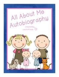 All About Me Autobiography   posters  graphic organizers  writing paper   TpT