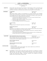 resume sample sample resume objective for maintenance worker  construction resume objective a construction resume objectives maintenance supervisor resume sample facility maintenance supervisor resume sample