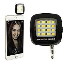 Amazon.com: Efanr Portable Mini 16 LED Selfie Enhancing ...