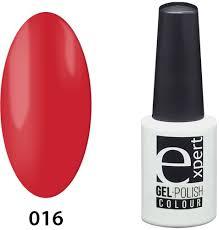 <b>Гель</b>-<b>лак цветной Expert Professional</b> 016 expert Fire Red ...