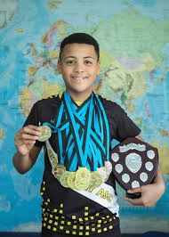 Ely St Mary's CoE pupil named top boy' at swimming competition ...