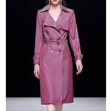<b>Long</b> Ladies <b>Trench Coat Spring</b> 2019 High Quality Women ...