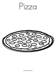 Small Picture Pizza Party Coloring Page Twisty Noodle