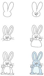 איך לצייר ארנב