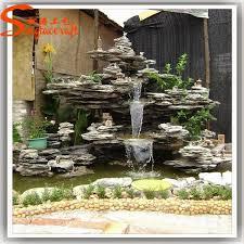 Fontana Cascata Da Giardino : Vendita calda stampi per moderna fontana a muro decorativi da