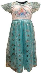 AME Sleepwear Girls' Frozen Princess Elsa Dress Up ... - Amazon.com