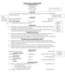8 sample resumes skills itemplated 8 sample resumes skills
