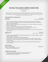 Teller Resume Cover Letter  head teller cover letter sample