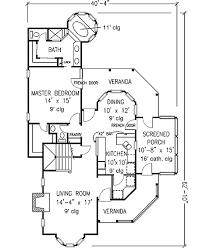 Queen Anne Style   GT   st Floor Master Suite  Country    Floor Plan