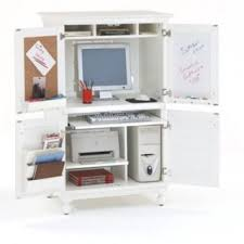 the hampton white computer armoire a great white computer desk armoire office desk