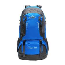 Shop <b>60L Backpack Hiking</b> Backpacking Packs <b>Outdoor Trekking</b> ...