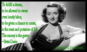 Bette Davis Quotes | Bourgeoise Bloomers via Relatably.com