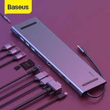 <b>Baseus 7 in</b> 1 Type C HUB 3.0 Adapter Type C HUB to HDMI RJ45 ...