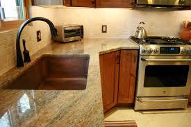 hammered copper kitchen sink:  amazing interior copper kitchen sinks kitchen with black sink applying for copper kitchen sinks