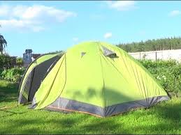 Установка <b>палатки ATEMI</b> TAIGA 4 Installing tents - YouTube