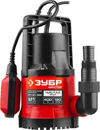 <b>Насос</b> погружной <b>ЗУБР НПЧ</b>-<b>М1</b>-<b>400</b>, дренажный, для чистой воды