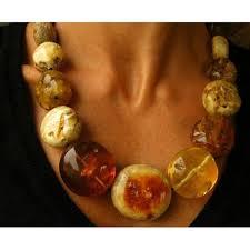 MEGA Amber Necklace,genuine baltic amberstone, multicolour ...