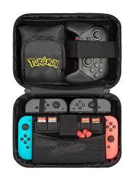 <b>Чехол</b> для консоли <b>Nintendo Switch</b> и контроллера <b>Pro Elite</b> ...